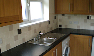 New kitchen in a rental property