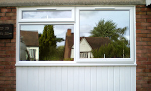 New windows and cladding
